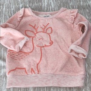 Carter's Adorable Pink Shirt 3-6M